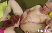 Dirty Teen Fucked by Gramps